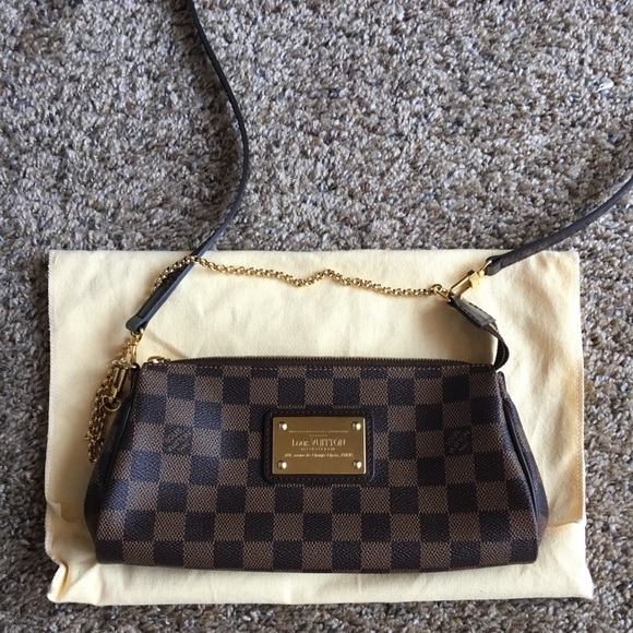 Louis Vuitton Bags   Eva Clutch In Damier Ebene   Poshmark 90c904a502f